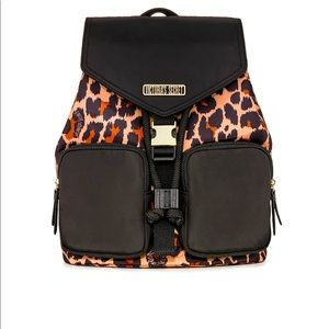 Victoria's Secret Nylon Animal Print Backpack